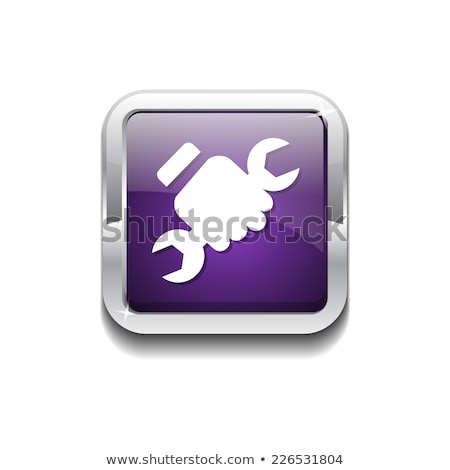 Labour Purple Vector Icon Button Stock photo © rizwanali3d