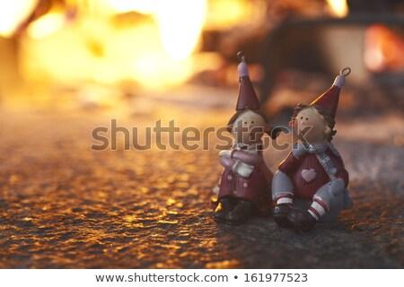 Natal amigos ilustração brinquedo engraçado mostrar Foto stock © adrenalina
