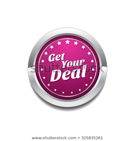 Get Your Deal Pink Vector Button Icon Stock photo © rizwanali3d