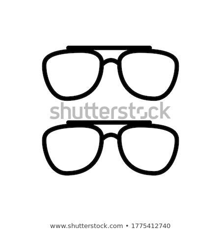 lunettes · différent · médicaux · santé · noir - photo stock © rastudio