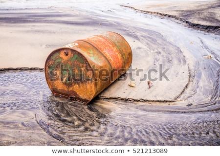 Yağ sahil tank Marsilya sanayi Stok fotoğraf © meinzahn