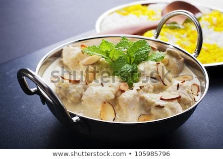 kínai · vacsora · izolált · út · tál · forró - stock fotó © antonio-s