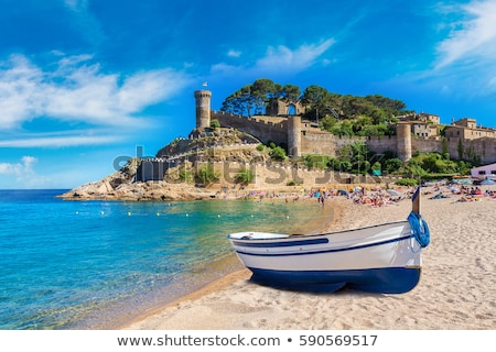 the coast of the Costa Brava, Catalonia, Spain Stock photo © nito