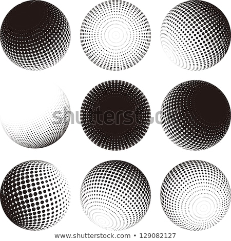 Circle buttons with moons Stock photo © bluering