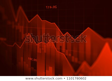Business graph down Stock photo © Oakozhan
