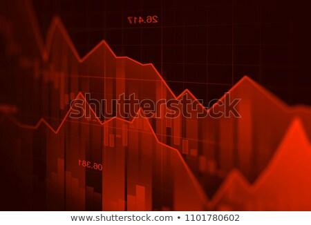 Business graph down Stock photo © Oakozhan
