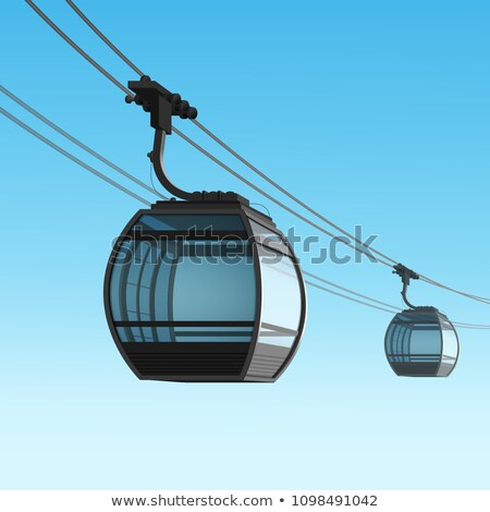 Tramway cables Stock photo © ldambies
