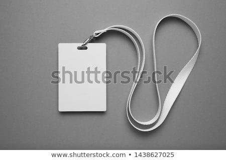 Identity tag Stock photo © devon