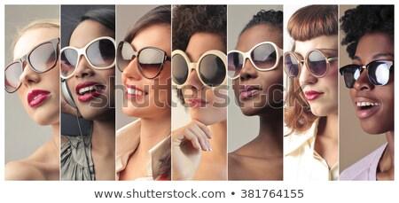 magyaráz · jelentések · várandós · pár · magasról · fotózva · kilátás - stock fotó © is2