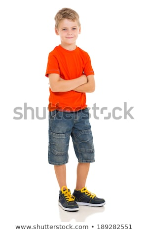 young boy with arms folded Stock photo © IS2