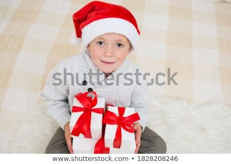 Navidad · curiosidad · dulce · altos · dama · curioso - foto stock © is2