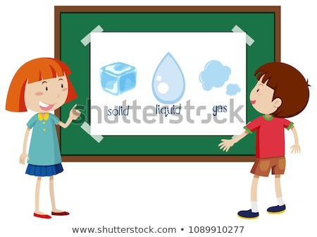 Student Learning State of Matter Stock photo © bluering