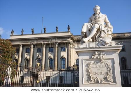 Berlin Alexander Humboldt memorial in Germany Stock photo © lunamarina