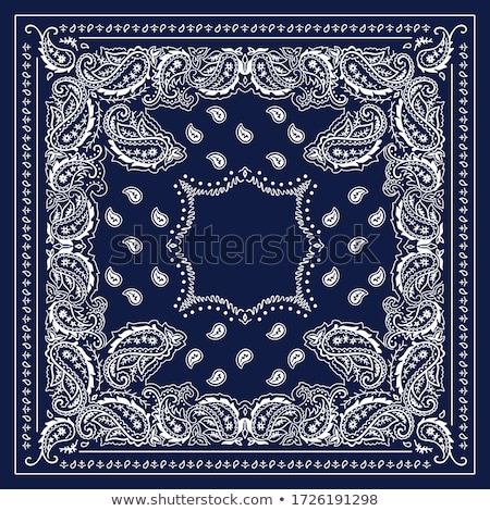 Paisley Bandana print Stock photo © sanyal