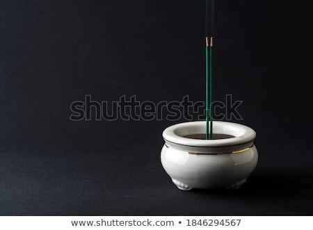 Incienso antigua chino arte Asia estilo Foto stock © craig