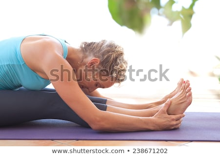 aerobik · spor · salonu · pilates · kadın · içme · suyu · şişe - stok fotoğraf © elnur