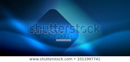 Absztrakt kék tech terv hálózat tudomány Stock fotó © SArts