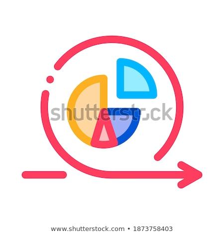 Grafik çevik ok vektör Stok fotoğraf © pikepicture