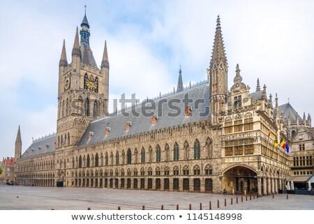 Stock photo: Ypres Cloth Hall Belgium