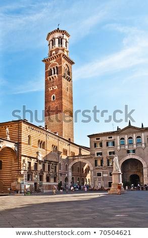 Toren verona Italië straat stedelijke Stockfoto © simply