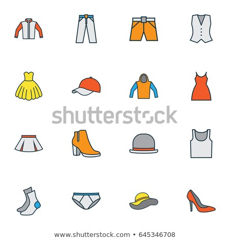 Feminine underclothes, orange Stock photo © RuslanOmega