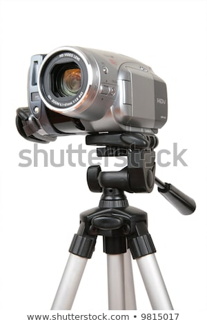 profissional · digital · filmadora · isolado · branco · tecnologia - foto stock © paha_l