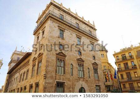 Palace of the Generalitat Valenciana Stock photo © aladin66