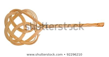 tapijt · metaal · geïsoleerd · witte · 3d · render · retro - stockfoto © stocksnapper