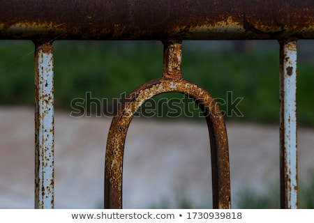 The old rusty iron parts. Texture Stock photo © Pilgrimego