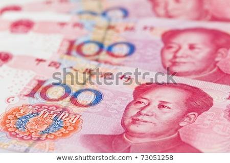 Renminbi (RMB) bank notes Stock photo © leungchopan