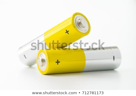 yellow alkaline battery Stock photo © marylooo