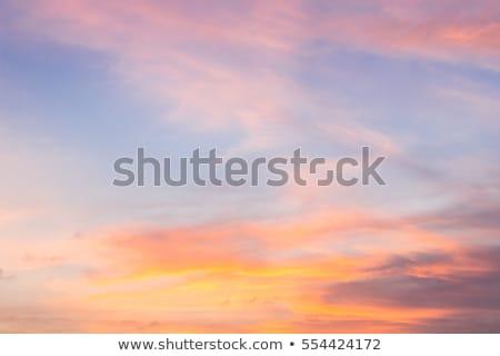 Pitoresco nuvens brilhante noite céu Foto stock © pzaxe