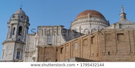 cathédrale · Espagne · scénique · vue · belle · ciel - photo stock © asturianu