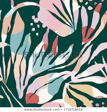 Abstract artistiek sjabloon bloem kunst Stockfoto © pathakdesigner