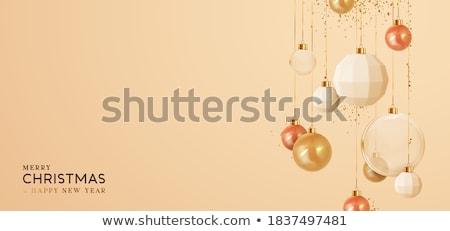 üveg · labda · vektor · szövegbuborék · illusztráció · absztrakt - stock fotó © yurkina