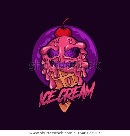 ホラー · ゾンビ · ハロウィン · パンク · 頭蓋骨 · デザイン - ストックフォト © leedsn