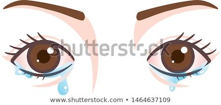 Watery Eyes Stock photo © ozgur