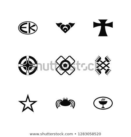 Gnosticism Sun cross Stock photo © shawlinmohd