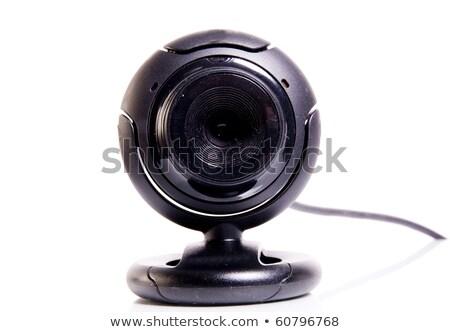 Pc ウェブカメラ 実例 孤立した 白 ストックフォト © cidepix