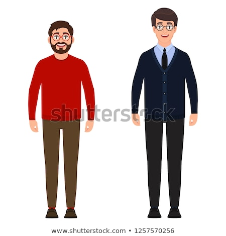 Successful young tall man Stock photo © stockyimages