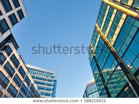 générique · immeuble · de · bureaux · modernes · Londres - photo stock © meinzahn