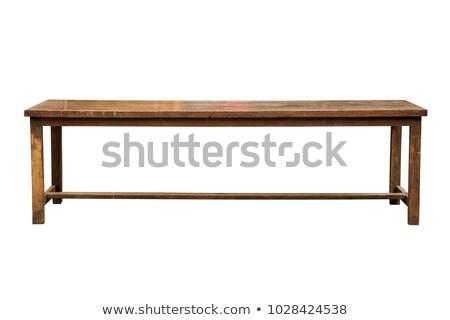 Сток-фото: долго · таблице · чистой · белый · цвета · современных