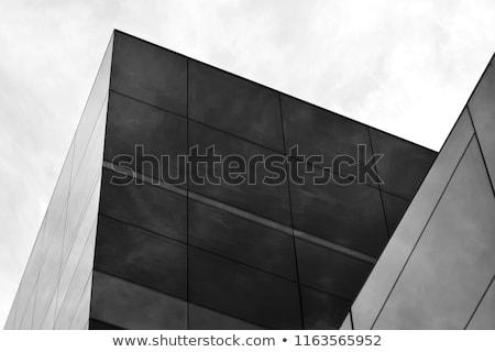 Black building background stock photo © ylivdesign
