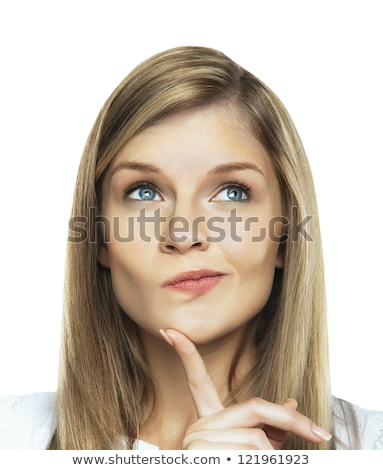 сомнительный белый женщину путать Cute Сток-фото © wavebreak_media
