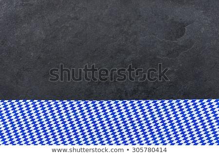 Stok fotoğraf: Elmas · model · arka · plan · mutfak · restoran · mavi