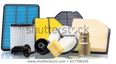 Automotivo conjunto carro motor filtrar cabine Foto stock © RuslanOmega