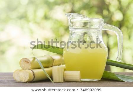 Marrón terrones de azúcar café fondo Foto stock © ironstealth