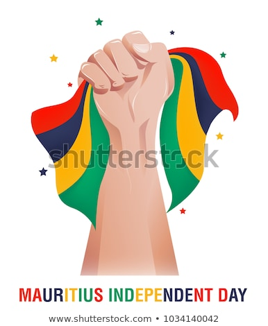 Brazil and Mauritius Flags Stock photo © Istanbul2009
