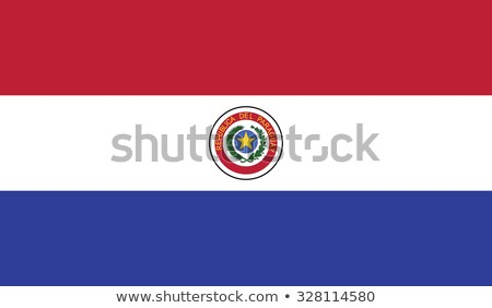 Flag of Paraguay Stock photo © Lom