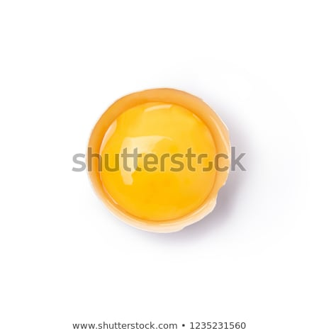 Uovo tuorlo mezzo sola shell grafica Foto d'archivio © bluering